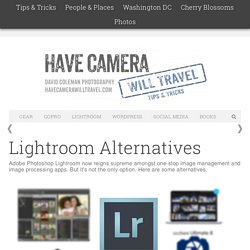 Lightroom Alternatives / 2015