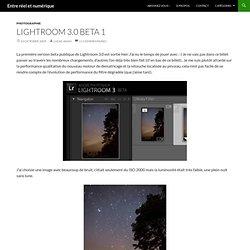 Entre réel et numérique » Lightroom 3.0 beta 1