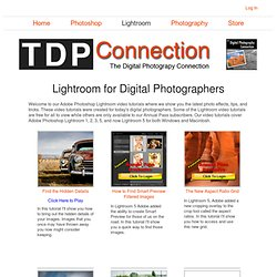 Lightroom For Digital Photographers Show Listing