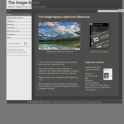 The Image-Space Lightroom Resource | Lightroom Tips Tricks | Lan