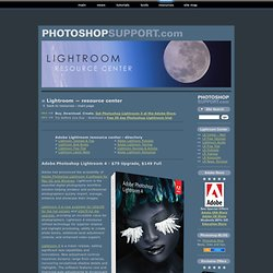 Adobe Lightroom Tutorials & News - Photoshop Lightroom Resource Center