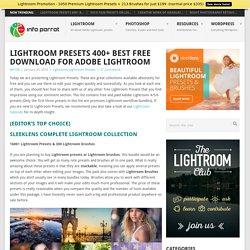 50+ Best Lightroom Presets 2015 All Free Adobe Lightroom