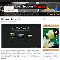 Lightroom Secrets