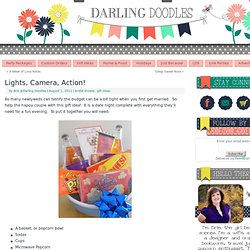 Darling Doodles | Lights, Camera, Action!