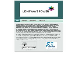 Lightwave Power, Inc. - (Build 20090824085414)