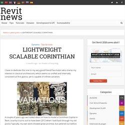 LIGHTWEIGHT SCALABLE CORINTHIAN - Revit news