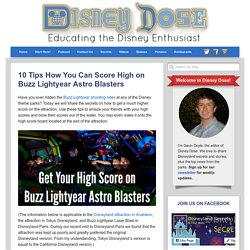 10 Tips How You Can Score High on Buzz Lightyear Astro Blasters