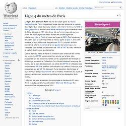 Ligne 4 du métro de Paris