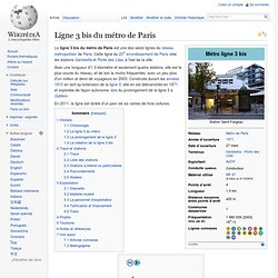 Ligne 3 bis du métro de Paris