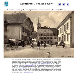 Lignières: Then and Now