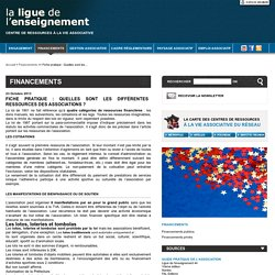 La ligue de l'enseignement - Ressources