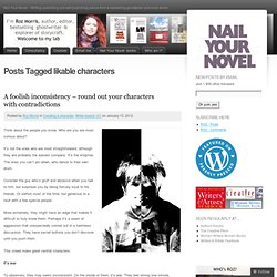 likable characters « Nail Your Novel