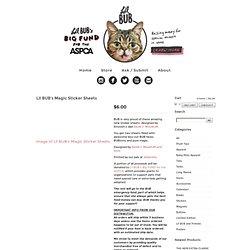 Lil BUB Store — Lil BUB's Magic Sticker Sheets