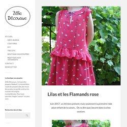 Lilas et les Flamands rose – Zélie Décousue
