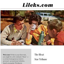 LILEKS (James) Welcome.