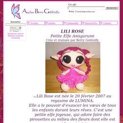 Lili Rose Elfe Amigurumi