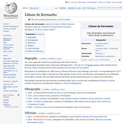 Liliane de Kermadec