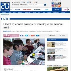 Lille: Un «code camp» numérique au centre aéré