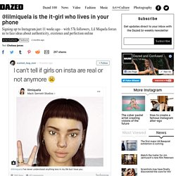 @lilmiquela is the it-girl who lives in your phone