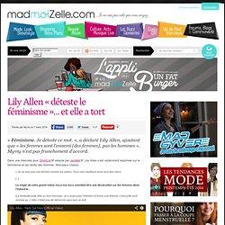 Lily Allen «déteste le féminisme»... et elle a tort