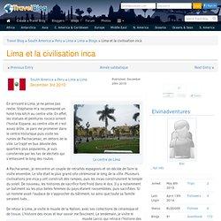 Lima et la civilisation inca