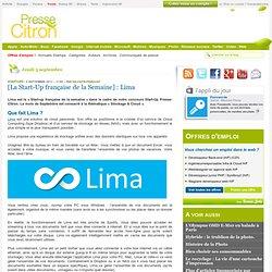 Lima : [La Start-Up française de la Semaine]