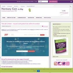 – Test de Limber : nouvel outil gratuit de veille et curation