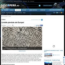 Limbile pierdute ale Europei