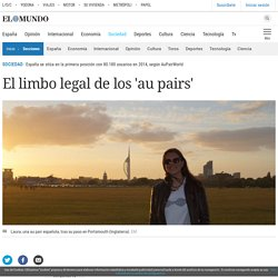 El limbo legal de los 'au pairs'