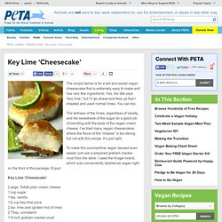 Key Lime 'Cheesecake'