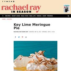 Key Lime Meringue Pie - Rachael Ray In Season