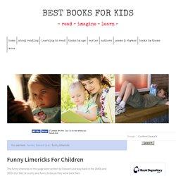 Funny Limericks For Children By Edward Lear
