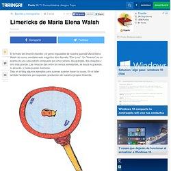 Limericks de Maria Elena Walsh