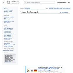 Limes de Germanie