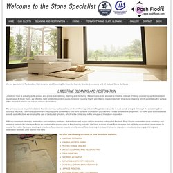 Limestone - Professional Stone and Tiled Floor Cleaning Company In UK