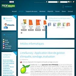 LimeSurvey : Application libre de gestion d'enquête, sondage, évaluation