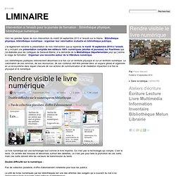 LIMINAIRE - Pierre Ménard