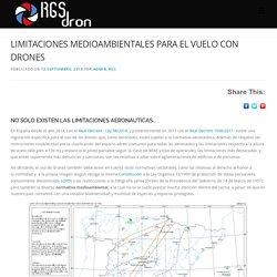 Limitaciones de drones en espacios naturales protegidos. RGSDron