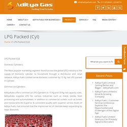 Aditya Fuels Limited - Adityafules offers LPG Cylinders 15-33 Kg LPG (Cyl)