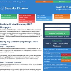 What you need to know: Limited Company Buy to Let FAQ - Bespoke Finance