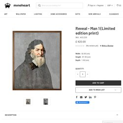 Reveal - Man 1 Limited Edition Print