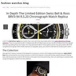In Depth The Limited Edition Swiss Bell & Ross BRV3-94 R.S.20 Chronograph Watch Replica - fashion watches blog