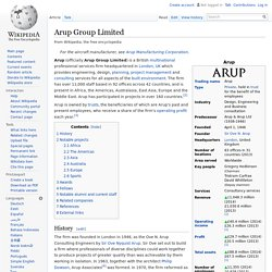 Arup Group Limited