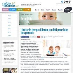 Limiter le temps d'écran, un défi pour bien des parents