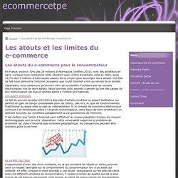 Les atouts et les limites du e-commerce - ecommercetpe