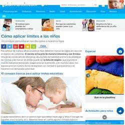 Los límites y la disciplina en la educación de los niños