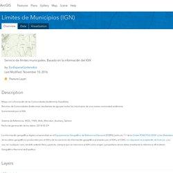 Límites de Municipios (IGN)
