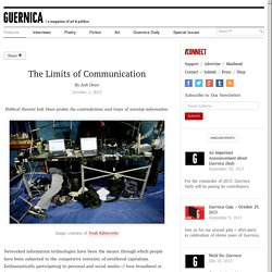 The Limits of Communication by Jodi Dean