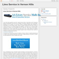 Limo Service in Vernon Hills