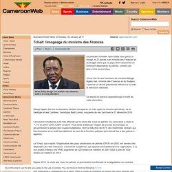 Tchad: limogeage du ministre des finances